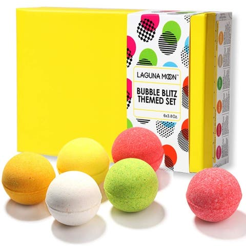 Passion for Peace Bath Bomb Gift Set-6 pcs with 3.8 Ounce Bath Bombs