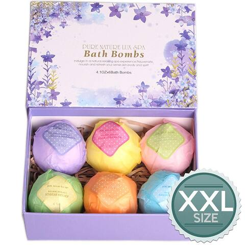 Bath Bombs Gift Set The Best Ultra Lush Natural Bubble Fizzies - N/A