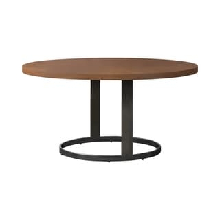 Link to Marino Natural Cherry and Chrome Round Dining Table Similar Items in Dining Room & Bar Furniture