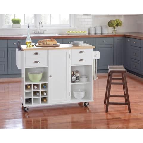 Simple Living Lotus Kitchen Cart