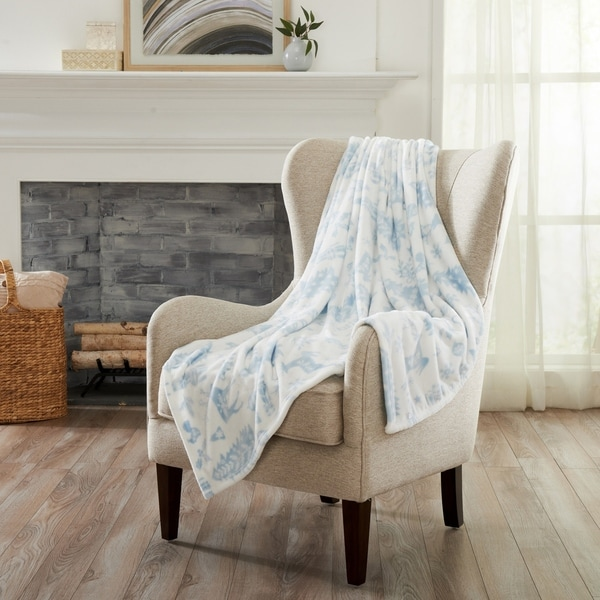 Pearl Collection Super Soft Velvet Plush Throw Blanket. Opens flyout.