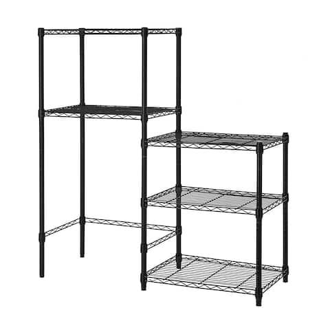 Mini Shelf Supreme with Supreme Shelving - 3 Shelf Add On (Standard) - Black