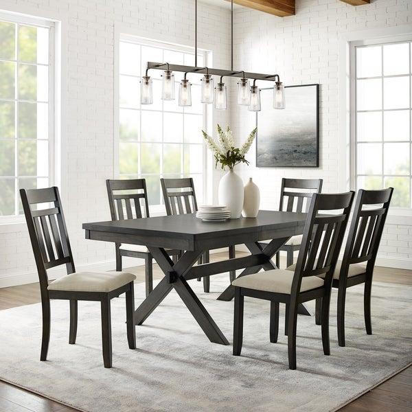 The Gray Barn Granary Slate 7-piece Dining Set