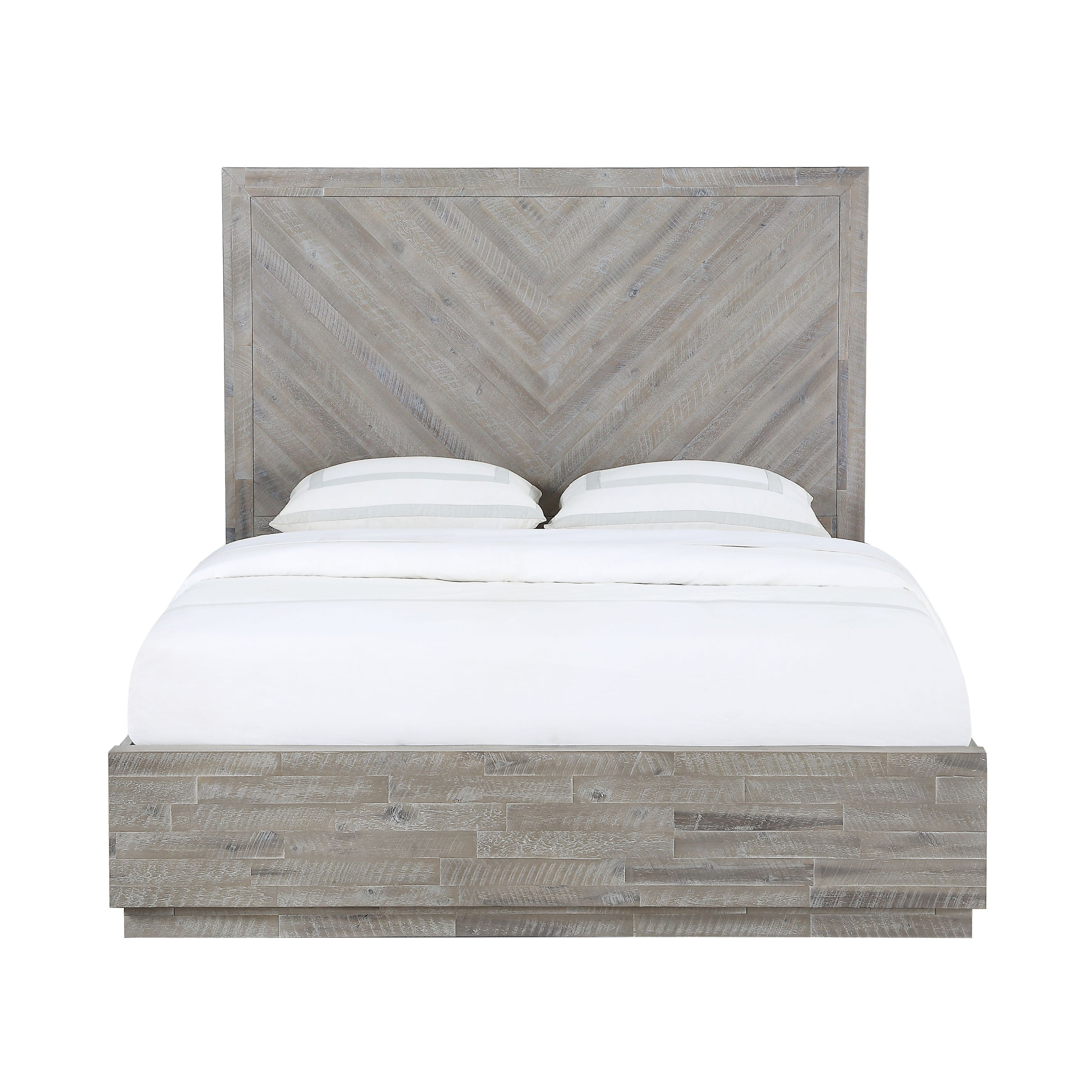 Shop Black Friday Deals On The Gray Barn Daybreak King Size Solid Wood Platform Bed In Rustic Latte Overstock 29369650
