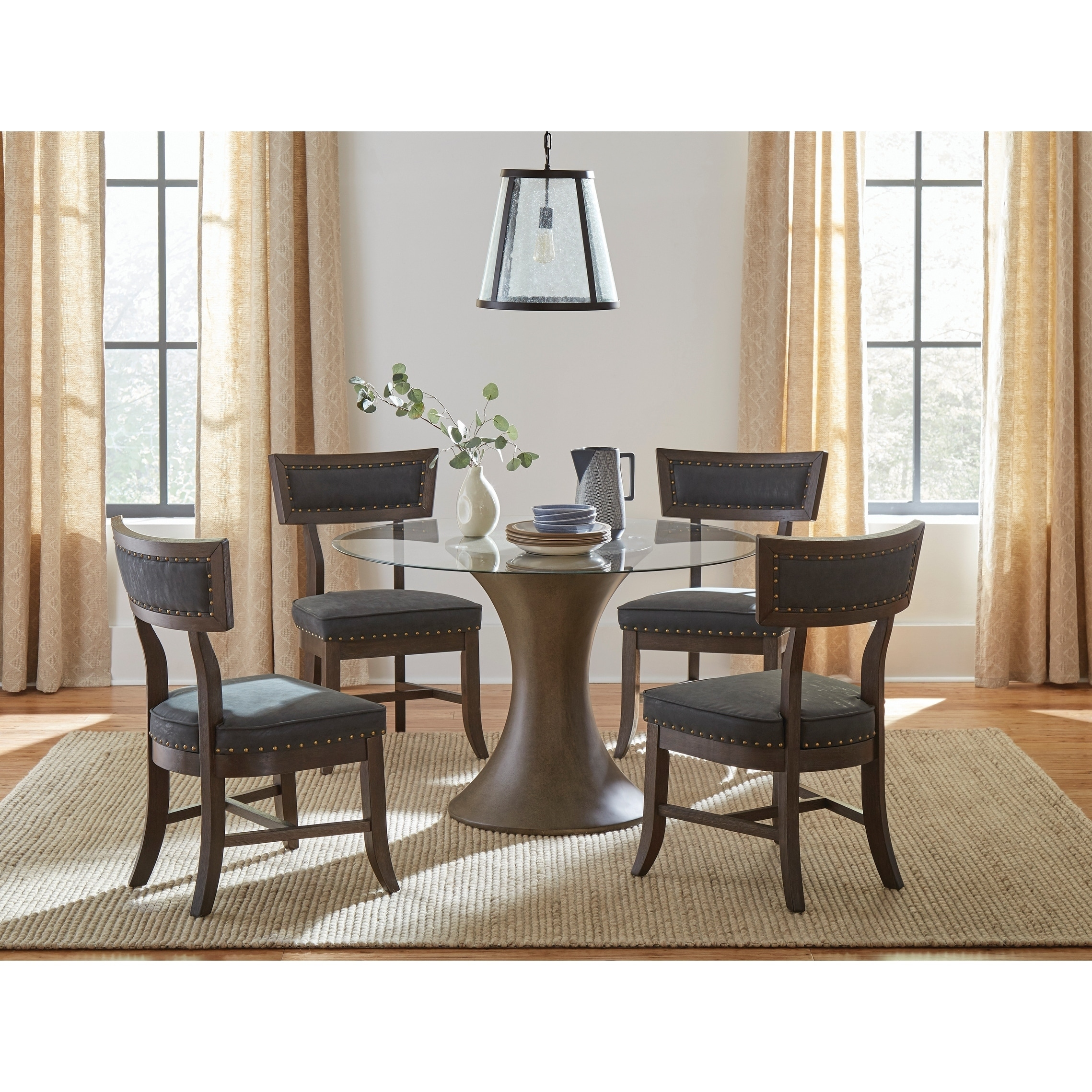 Cullman Bronze Hourglass Dining Table Base Overstock 29374861