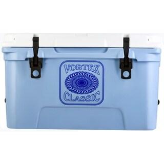 Vortex Classic Series 45-Quart Rotational-Molded Cooler in Cerulean - N/A