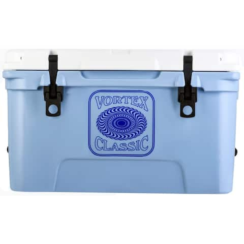 Vortex Classic Series 45-Quart Rotational-Molded Cooler in Cerulean