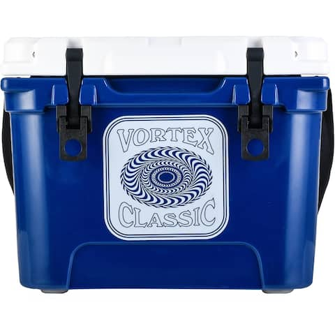 Vortex Classic Series 20-Quart Rotational-Molded Cooler in Navy