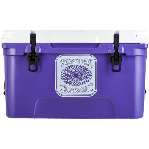 Vortex Classic Series 45-Quart Rotational-Molded Cooler in Ultra Violet