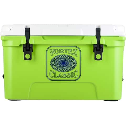 Vortex Classic Series 45-Quart Rotational-Molded Cooler in Lime