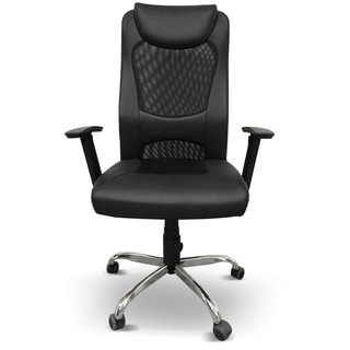 Ergonomic Leather Adjustable High Back Office Chair