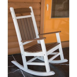 Link to Hawkesbury Recycled Plastic Rocking Chair by Havenside Home Similar Items in Outdoor Sofas, Chairs & Sectionals