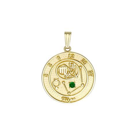 Forever Last 10 kt Virgo Talisman Zodiac pendant