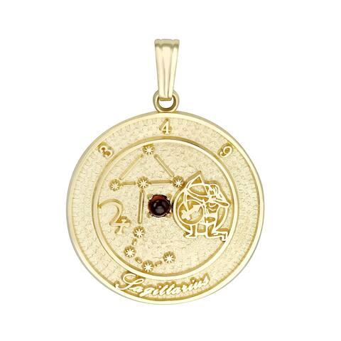 Forever Last 10 kt Sagittarius Talisman Zodiac pendant