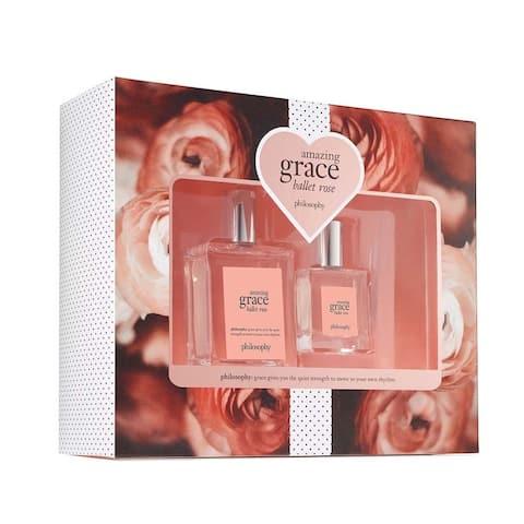 Philosophy Amazing Grace Ballet Rose 2-piece Set