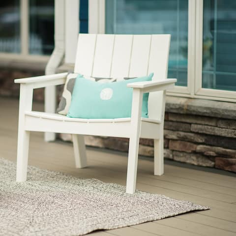 Hawkesbury Recycled Plastic Modern Lounge Chair by Havenside Home