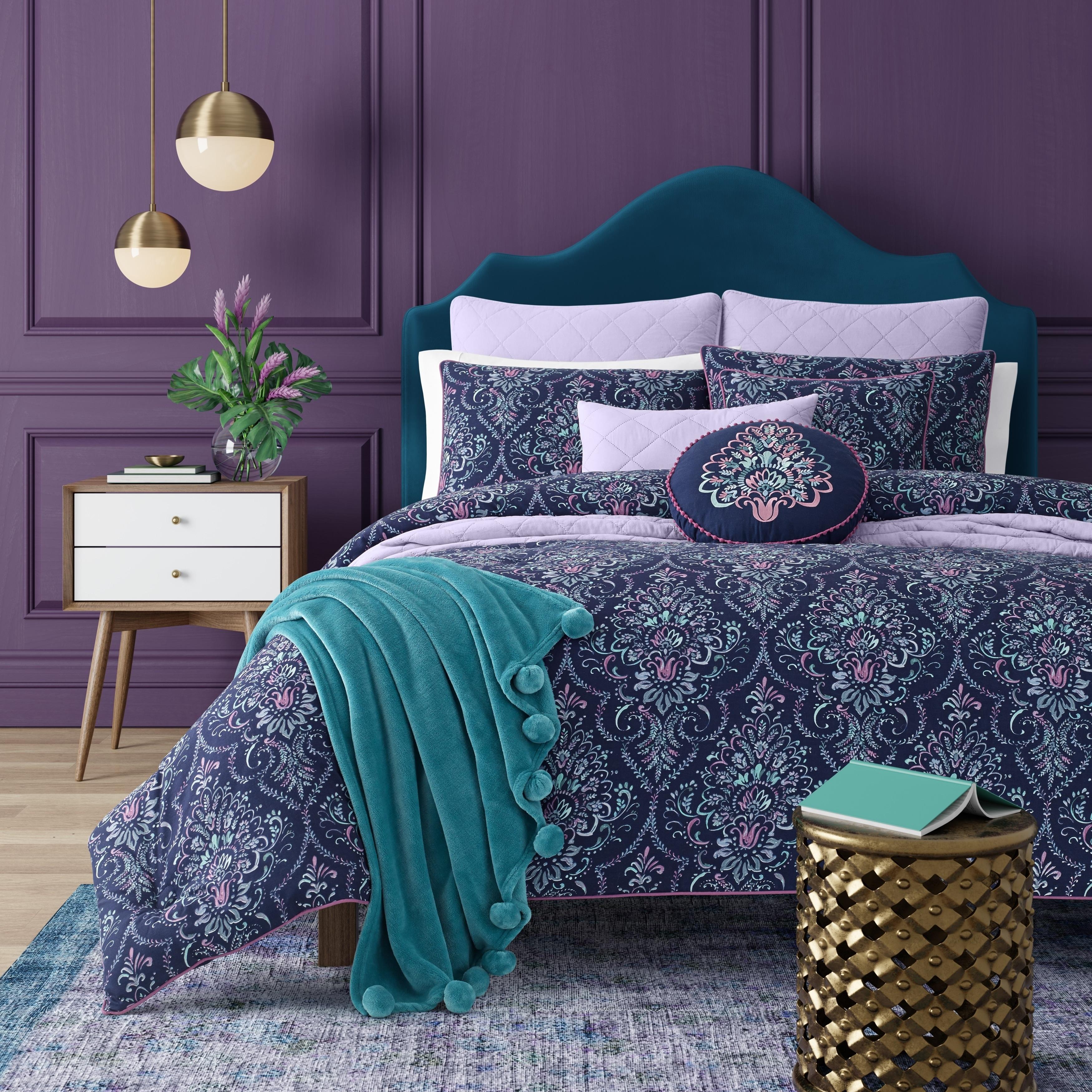 Porch Den Aebischer Bohemian Comforter Set In King Size As Is Item Overstock 29381016