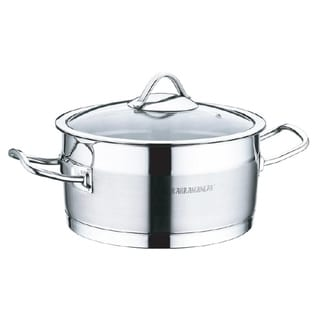 "Link to Sirma Stainless Steel Deep Pot , 8"" Similar Items in Cookware"
