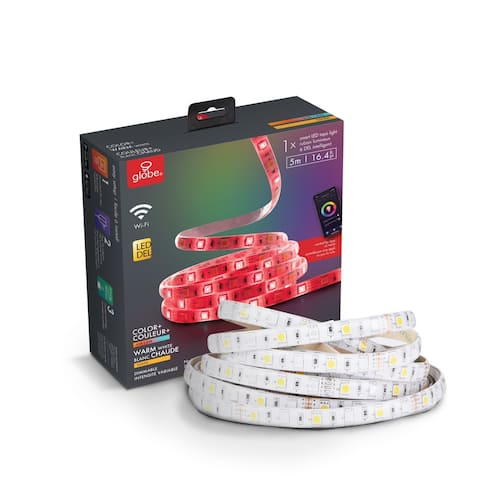 Wi-Fi Smart Multicolor Changing RGB Dimmable LED Strip Light
