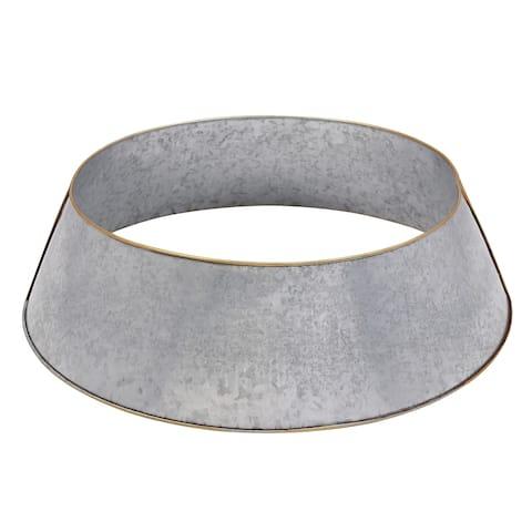 Gold Rim Design Christmas Tree Ring