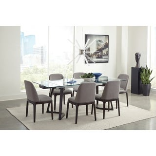Jaclyn Grey and Espresso 5-piece Dining Set