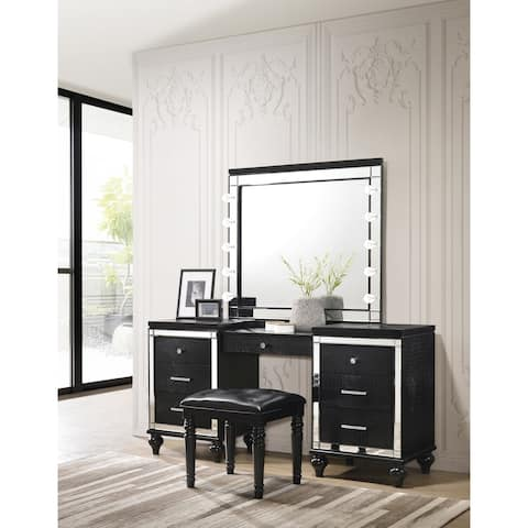 Valentino Black Vanity Table