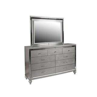 Silver Orchid Swanson Silver 9-drawer Dresser