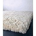 Artist's Loom Hand-woven Wool Shag Rug (7'9x10'6) - 8' x 11'