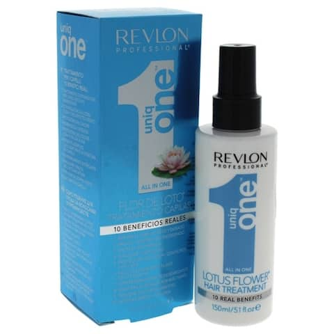 Revlon Uniq One Lotus Flower Hair Treatment 5.1 oz Treatment HAIRCARE