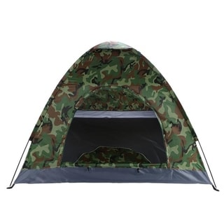 3-4 Person Camping Dome Tent Camouflage