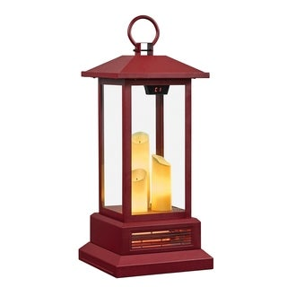 duraflame 28 Electric Lantern with Infrared Heat and Remote Control Cinnamon - N/A