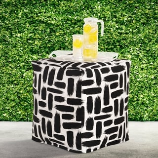 Link to Siscovers Taboo Indoor-outdoor Pouf Similar Items in Outdoor Sofas, Chairs & Sectionals