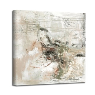 'Brave New World I' Abstract Canvas Wall Art