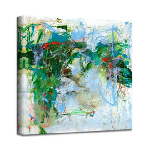 'All That Jazz' Abstract Canvas Wall Art