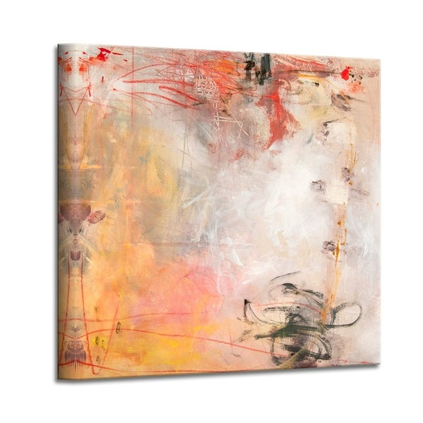 'Rose Water II' Abstract Canvas Wall Art