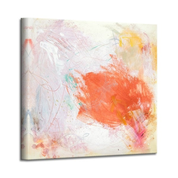 'Sweet Memories' Abstract Canvas Wall Art