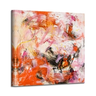 'Celebration' Abstract Canvas Wall Art