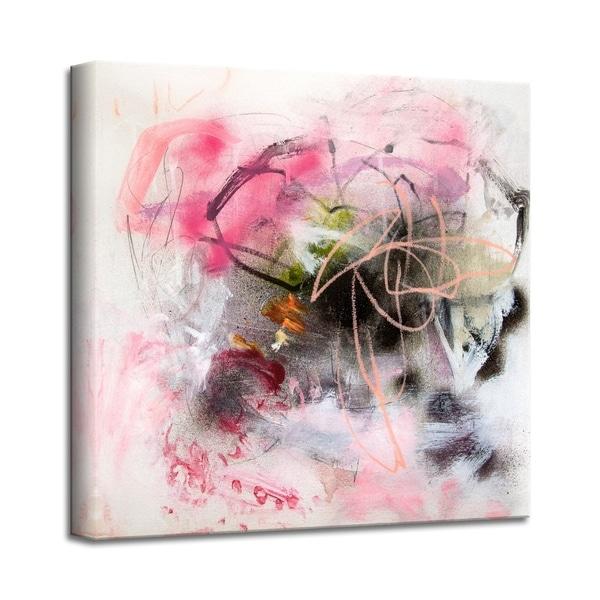 'Bubble Gum Brigade' Abstract Canvas Wall Art