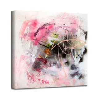'Bubble Gum Brigade' Abstract Canvas Wall Art