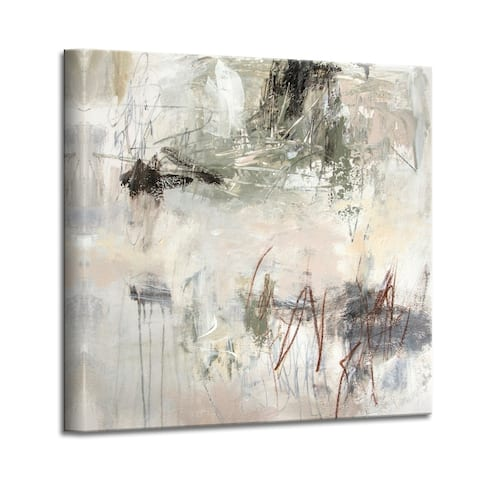 'Brave New World II' Abstract Canvas Wall Art