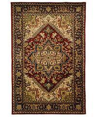 Safavieh Handmade Classic Heriz Red Wool Rug - 4' x 6'