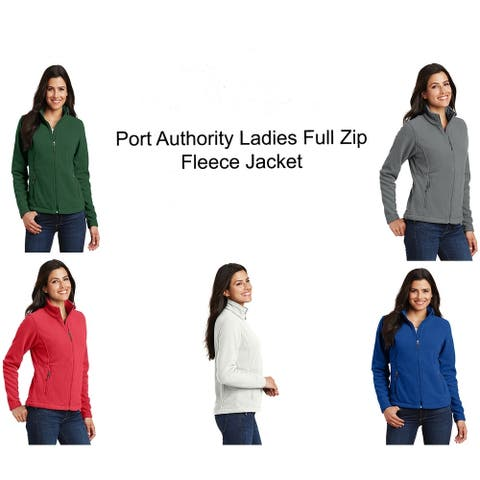 Port Authority Ladies Full Zip Fleece Jacket
