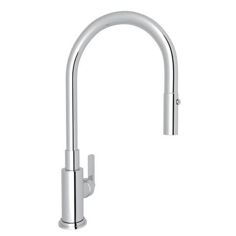 Rohl A3430LMAPC-2 Italian Kitchen Lombardia Pull-Down Faucet with Single-Lever Handle