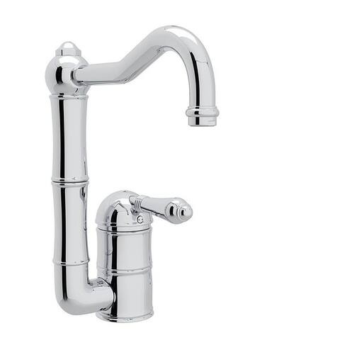 Rohl A3608/6.5LMAPC-2 Italian Kitchen Acqui Bar/Food Prep Faucet with Single-Lever Handle