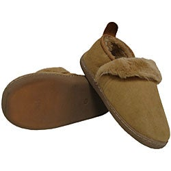 Amerileather Shearling Outdoor Travel Slippers - Thumbnail 1