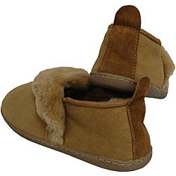 Amerileather Shearling Outdoor Travel Slippers - Thumbnail 2
