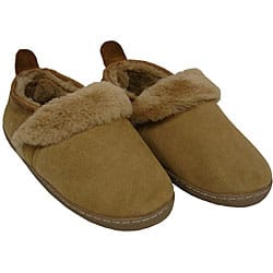 Amerileather Shearling Outdoor Travel Slippers|https://ak1.ostkcdn.com/images/products/29401/Amerileather-Double-Faced-Shearling-Outdoor-Travel-Slippers-P909775.jpg?impolicy=medium