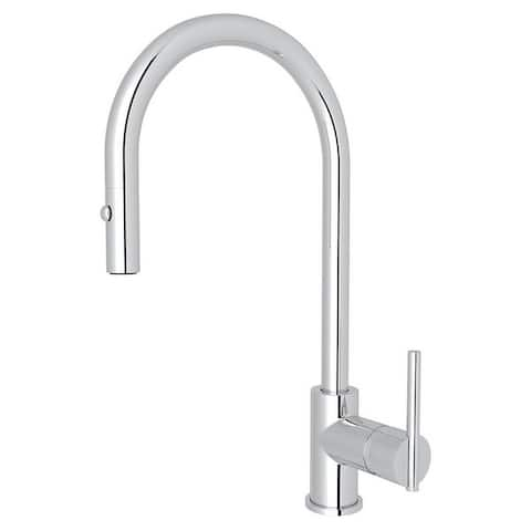 Rohl CY57L-APC-2 Pirellone Pull-Down Faucet With Single-Lever Handle