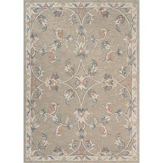 """Mirroring Floral Bloom Area Rug 7'0"""" x 9'0"""" - 7'0"""" x 9'0"""""""
