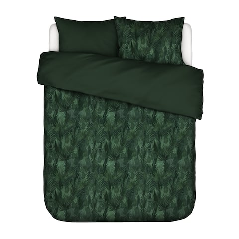 Essenza 200TC CT Satin Green King Gaga Geen Duvet Cover 3pc Set